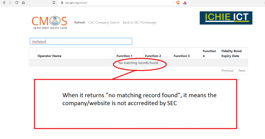 how to identify fake investment websites in 2021